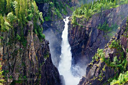The Rjukan Falls, Norway