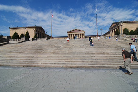 "The ""Rocky"" Steps, Philadephia Museum of Art"