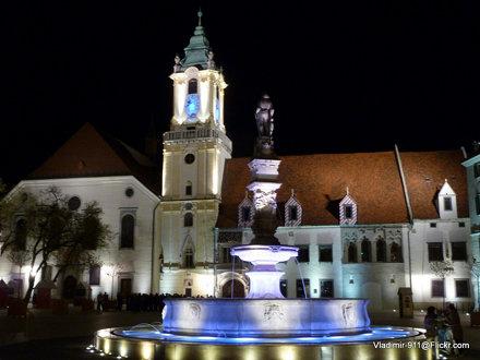 Bratislava, Slovakia Vacation 2012