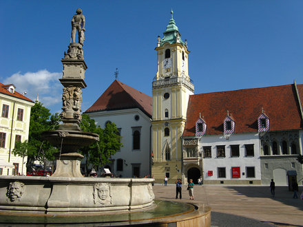 Bratislava - Central Square