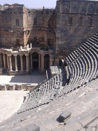 Bosra, Römisches Theater, 2. Jhdt.