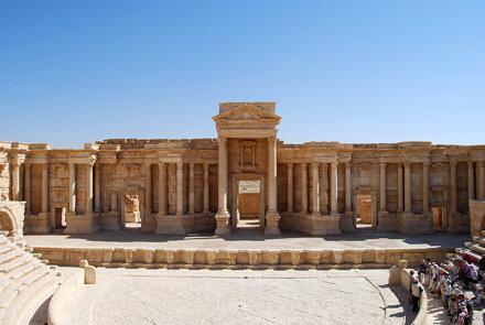 The Theatre in Palmyra, Syria