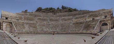 Roman Theater Panorama