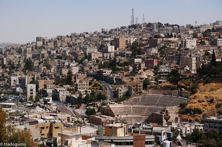 Roman Theater, Amman, Jordan.