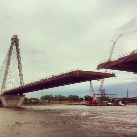 The new I-70 bridge is almost complete