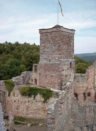 Burgruine Rötteln im Schwarzwald (2003)