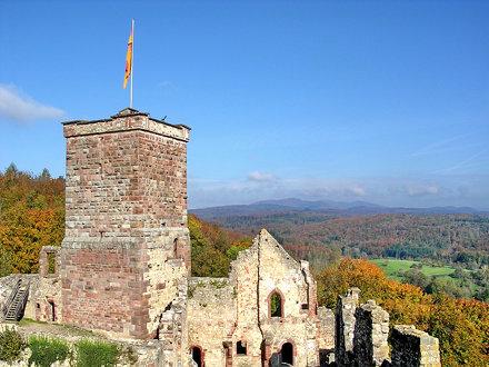 castle ruin roetteln