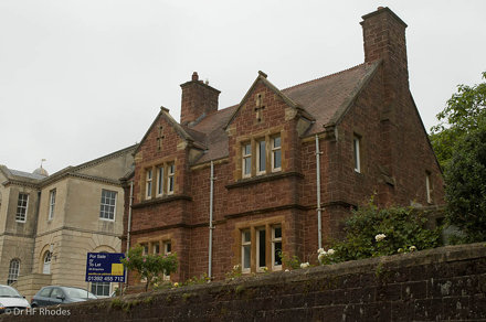 Buildings, Rougemont Castle, Exeter, Devon