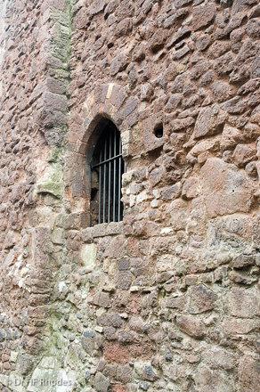 City walls near Castle Street, Exeter, Devon