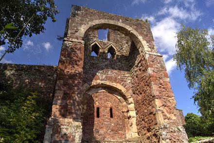 Exeter - Rougemont Castle