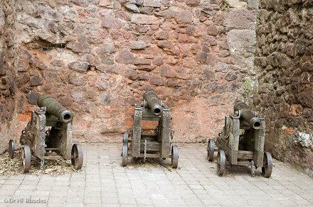 Cannon, Rougemont Castle Gatehouse, Exeter, Devon
