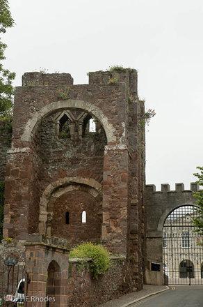 The Gatehouse, Rougemont Castle, Exeter, Devon