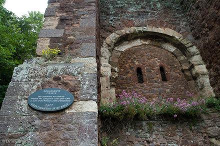 Rougemont Castle Gatehouse built by William the Conquerer not long after 1066, Exeter, Devon