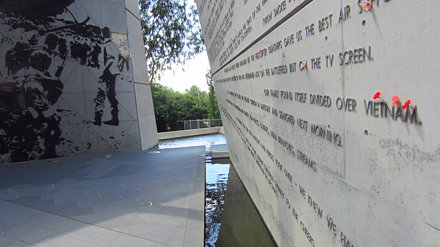The Australian Vietnam Forces National Memorial in Canberra
