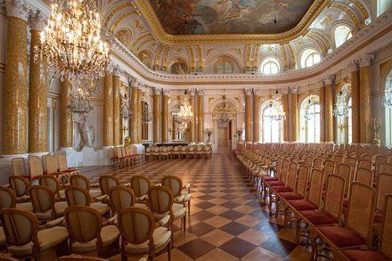 Zamek Królewski - wnętrza / Inside the Royal Castle in Warsaw