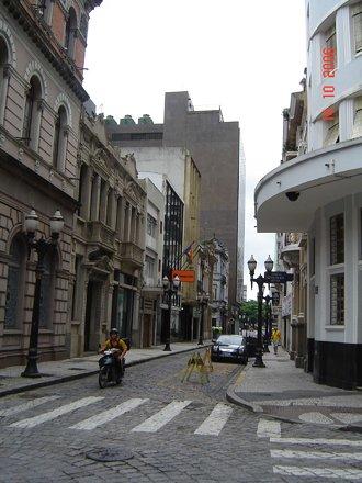 Rua XV de novembro - Santos
