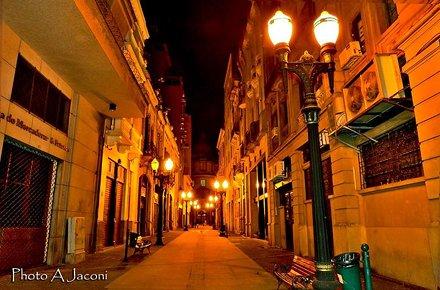 Rua XV de Novembro. Foto: André Jaconi