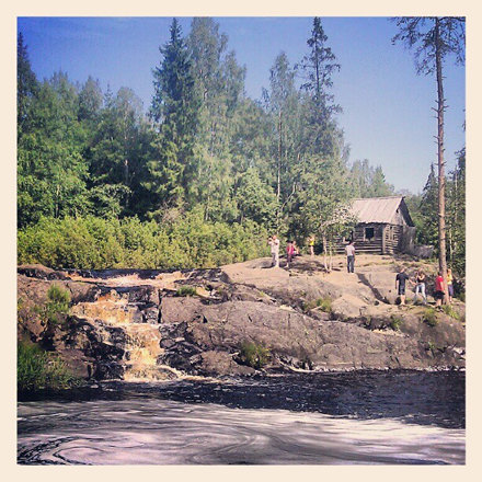 #рускеала #водопад #карелия #ruskeala #karelia #waterfall #nature