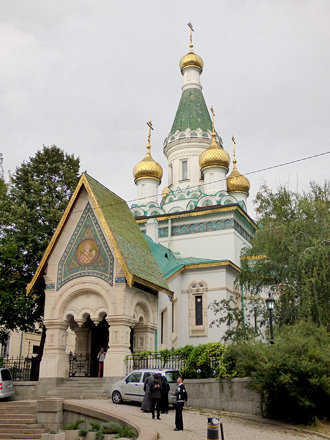 Sofia - Russian Church of St Nicholas