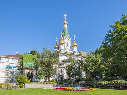 Rusian Church - Sofia, Bulgaria