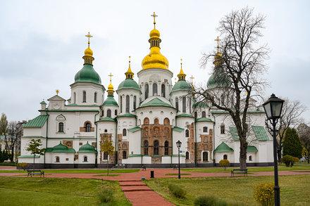 St. Sophia, Kiev (HDR)
