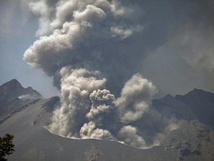 sakurajima volcano - japan