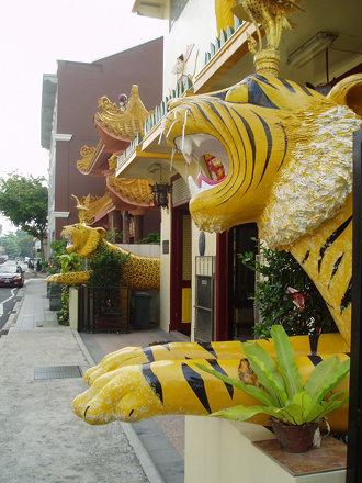 Tiger & Leopard, Sakya Muni Buddha Gaya Temple