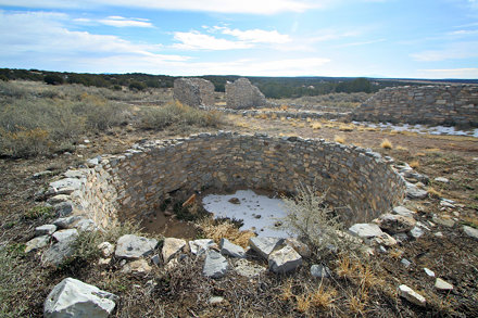 Kiva Near Gran Quivira Pueblo