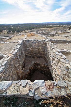Gran Quivira Pueblo, Two Story