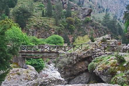 Op weg naar de Samaria kloof