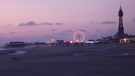 Central Pier and Blackpool Tower