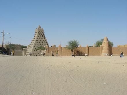 Mali. Tombuctu. Mezquita Sankoré