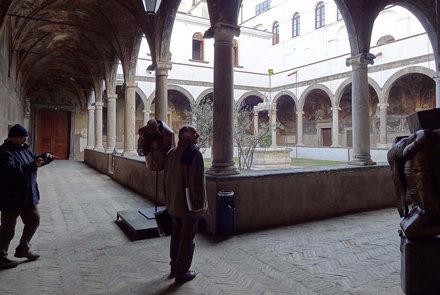 Napoli - S.Maria la Nova - Il chiostro piccolo.