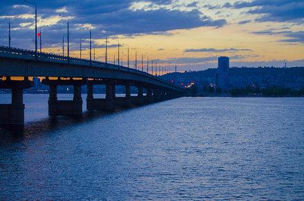 Саратовский мост, Энгельс