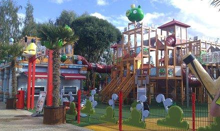 Angry Birds theme park