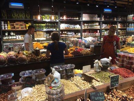 Im Sarona-Market, Tel Aviv