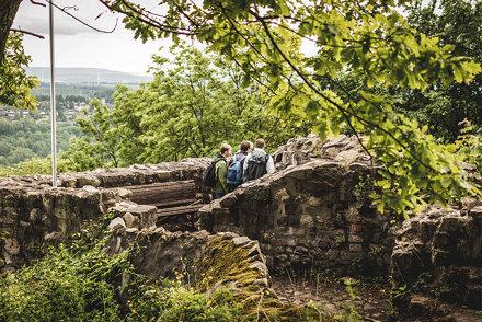 Harz - Scharzfeld - Einhornhöhle und Burgruine