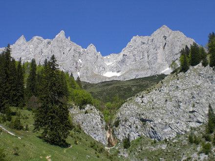 Kaiser und Stiegenbachfall