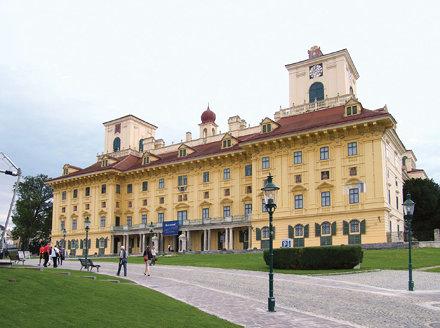 Kismarton, Esterházy-kastély