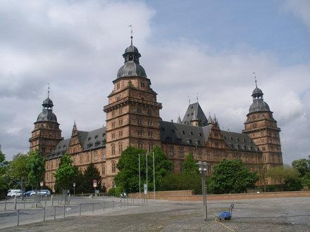 Aschaffenburg (Schloss Johannisburg), Palacio de Johannisburg, Johannisburg Palace, Palazzo di Johan