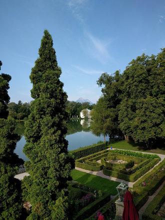 Schloss Leopoldskron garten