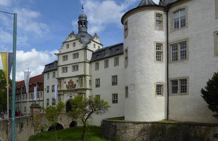 Bad Mergentheim, Entrée du château des Chevaliers Teutoniques.