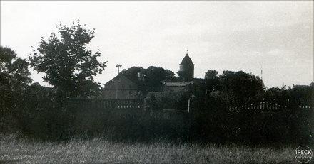 fragment panoramy miasta Świdwin 1982