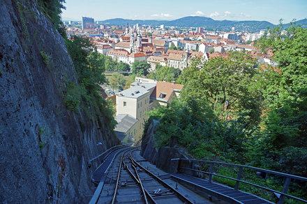 2016-08-12 08-15 Graz 102 Schlossbergbahn
