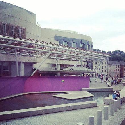 Необычно креативно выглядит здание парламента #Шотландии. Внешней политикой занимается парламент UK,