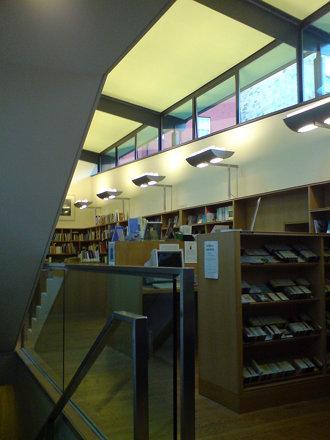 Scottish Poetry Library interior 1