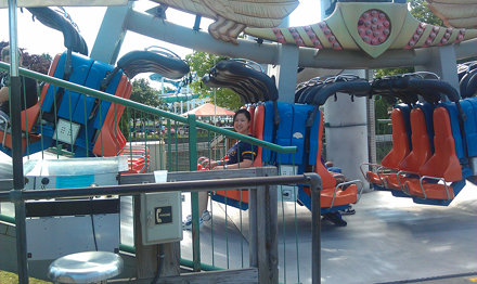 Nancy at Seabreeze Amusement Park