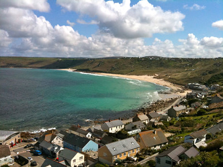 View Of Sennen Cove From The Flat