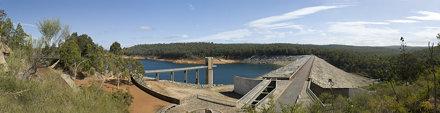 Serpentine Dam Panorama