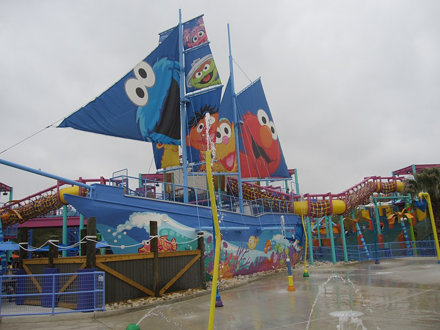 SeaWorld San Antonio's Sesame Street Bay of Play